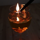 DIY - the Floating-Snowflake-Light - Oil Lamp