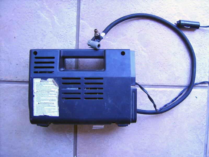 Convert A Tire Inflator Type Air Compressor Into A Vacuum