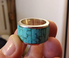 Easy Turquoise Channel Ring
