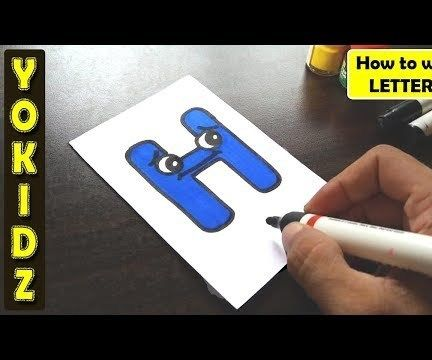 WRITE THE LETTER H