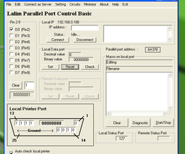 Home Automation/ Control a Relay with your Parallel Port