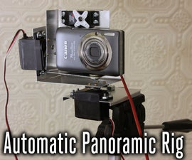 High Resolution Panoramic Photography Rig
