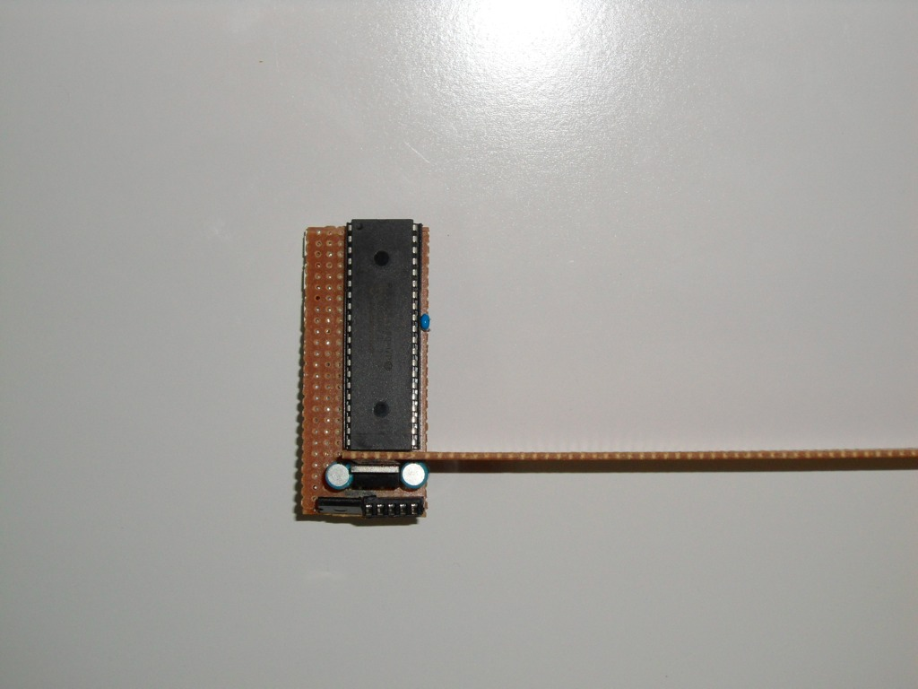 Picture of Cut the Main Arm Assembly and Slot Into the Display Board.