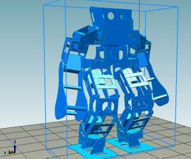 Small Humanoid Robot Making