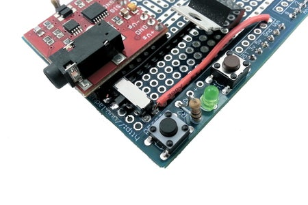 [Muscle Sensor Shield] Connect the +9V Switch to Vin