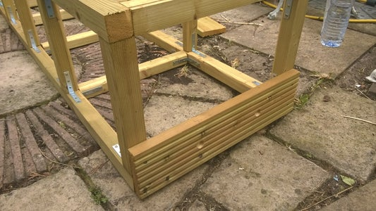 Attaching the Decking