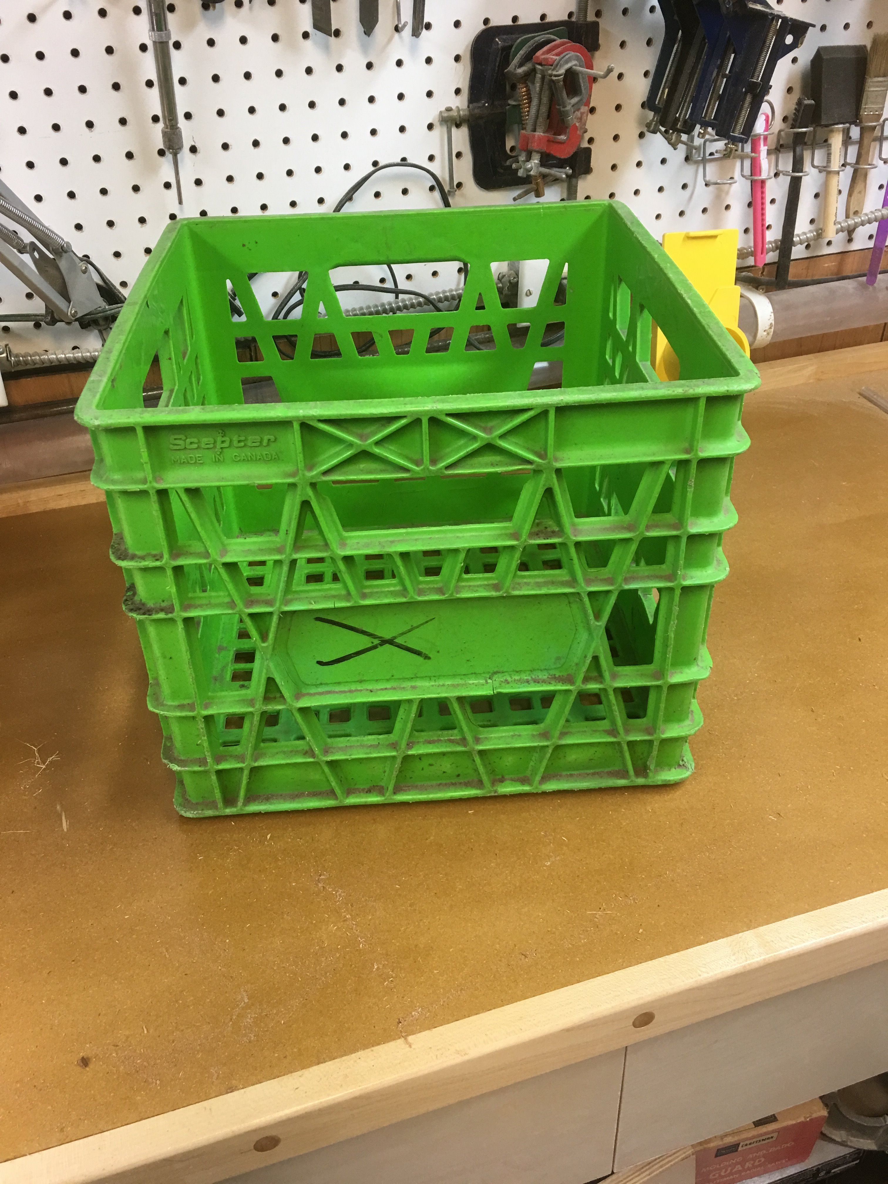 Picture of Here Is a Standard Milk Crate