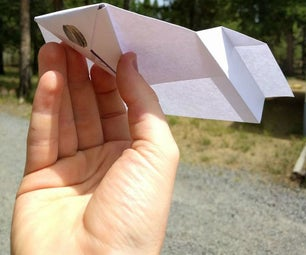DIY Ultimate Paper Glider
