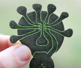 Lilypatch: Quick Laser Cut Soft Circuit Breakout