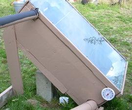 Solar Hot Water Heater Batch Pre-heater