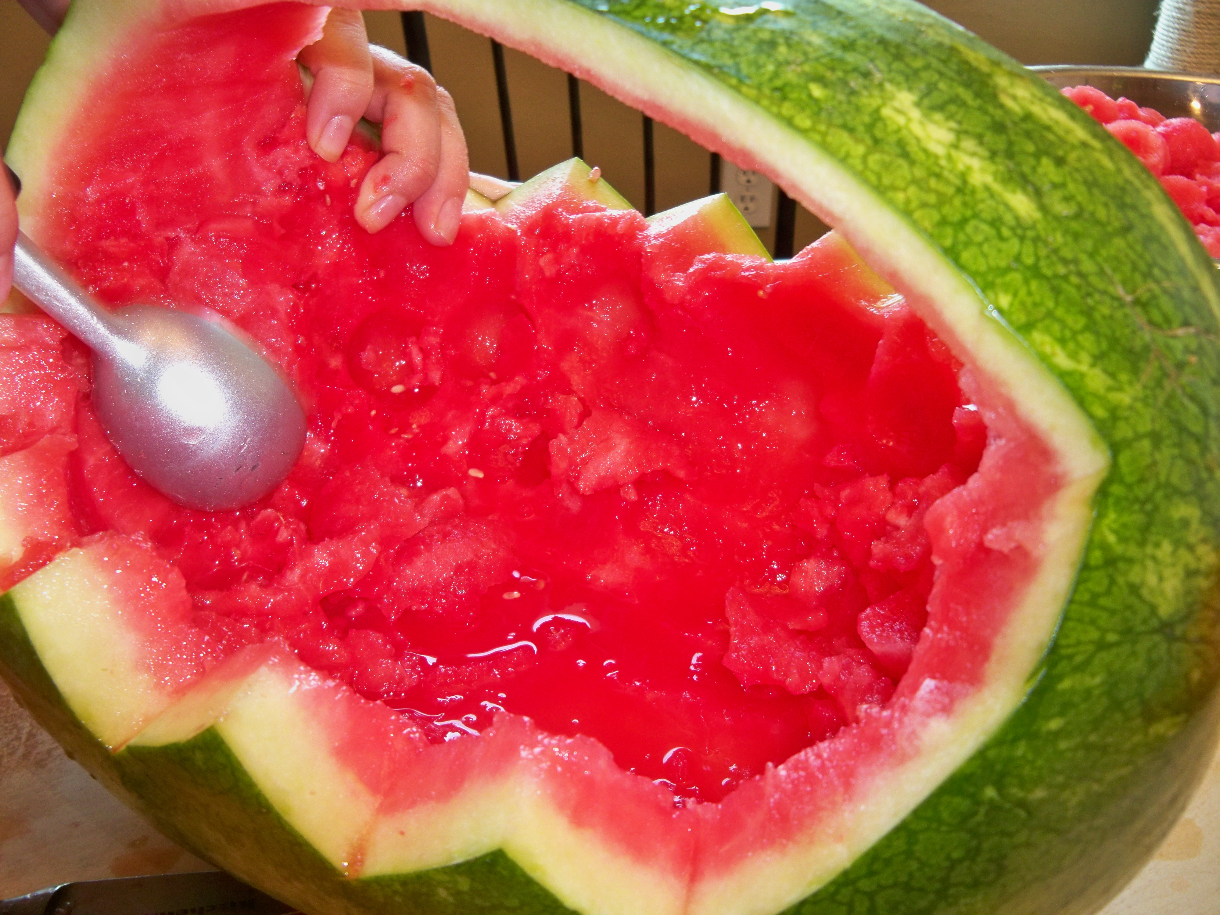 Picture of Hollowing the Melon