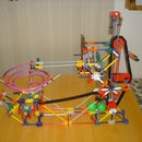 Project Micro - a Mini K'nex Ball Machine by son