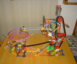 Project Micro - A Mini K'nex Ball Machine