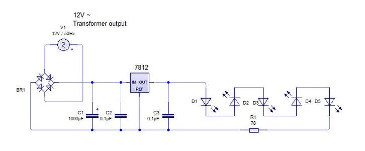LED Driver (5 LEDs)