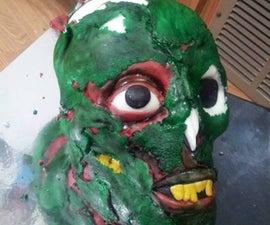 Zombie Head Cake