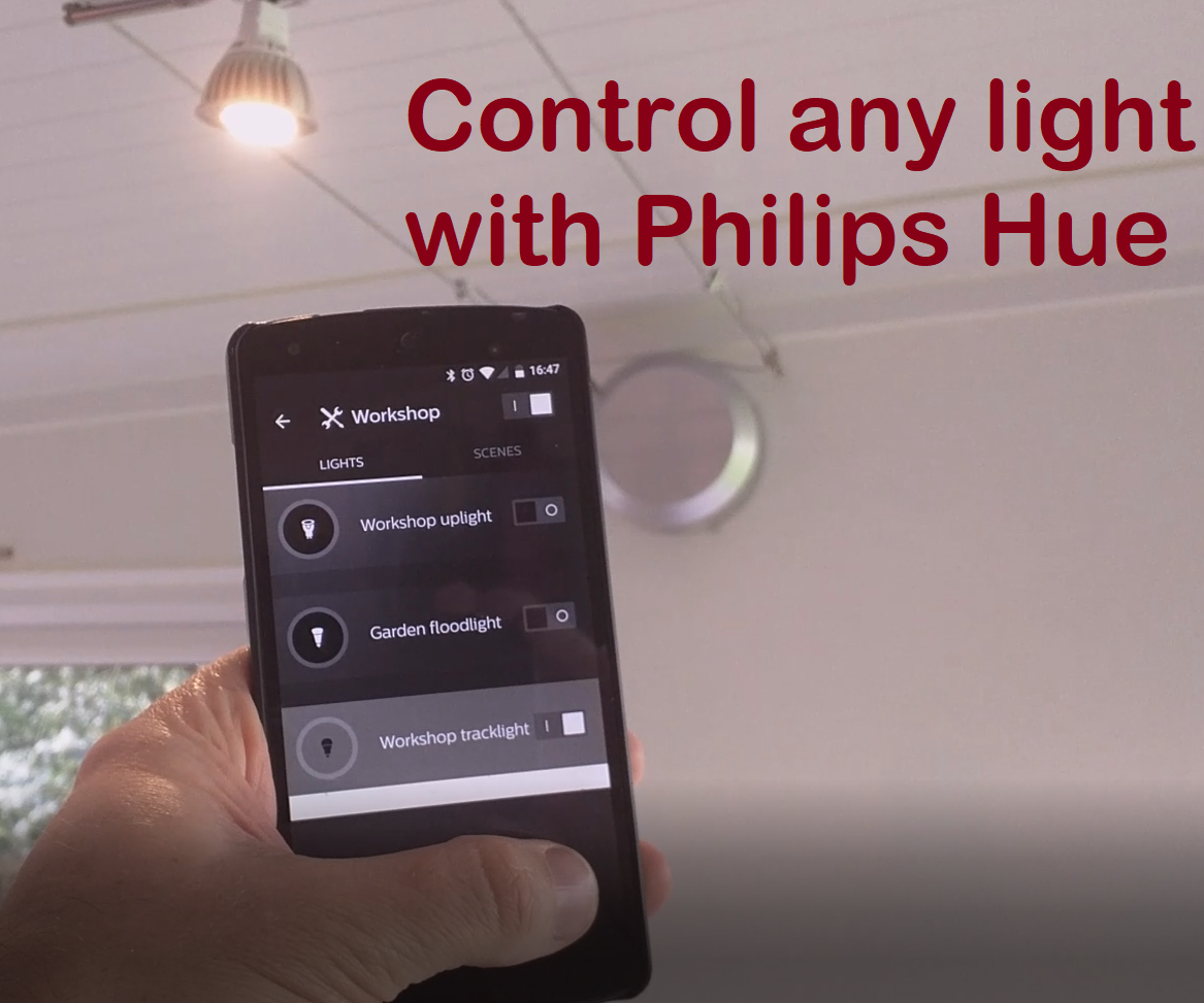 Control Any Light With Philips Hue 6 Steps Pictures Ceiling Wiring Diagram The Main Problem