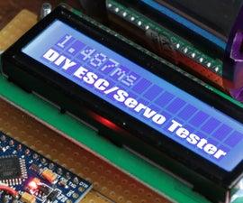 Make Your Own ESC/Servo Tester