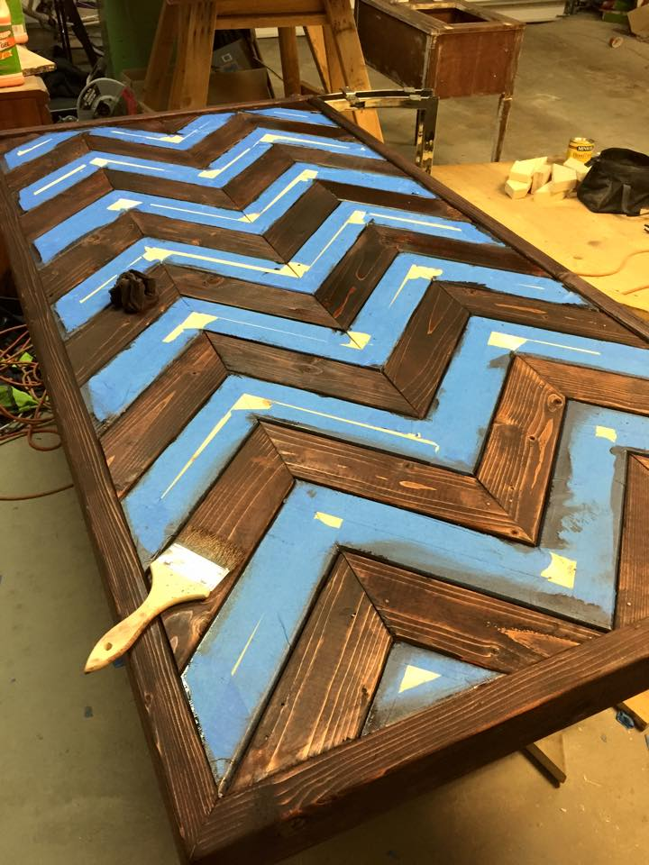 Picture of Smoothing and Staining