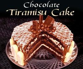 Chocolate Tiramisu Cake