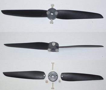 Second Life of Broken Propeller for Rc Model Planes