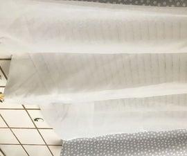 DIY: No Sew Curtains