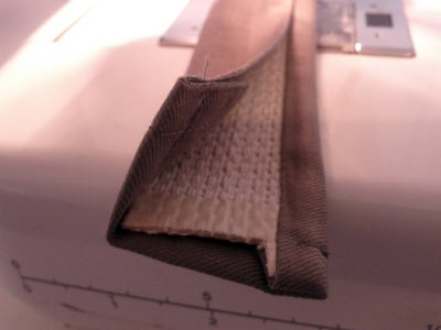 Sew the Wrap Closed