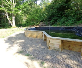 Raised Pond for Wheelchair Users