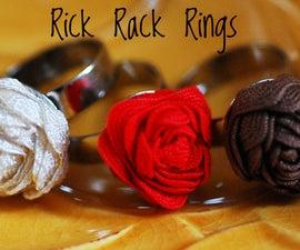 Rick Rack Rings DIY