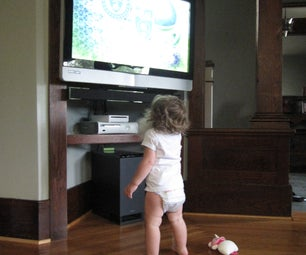 Quickly Improve Flat Screen TV Safety With Zip Ties