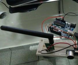 Radio 915MHz 3dr module telemetry with arduino