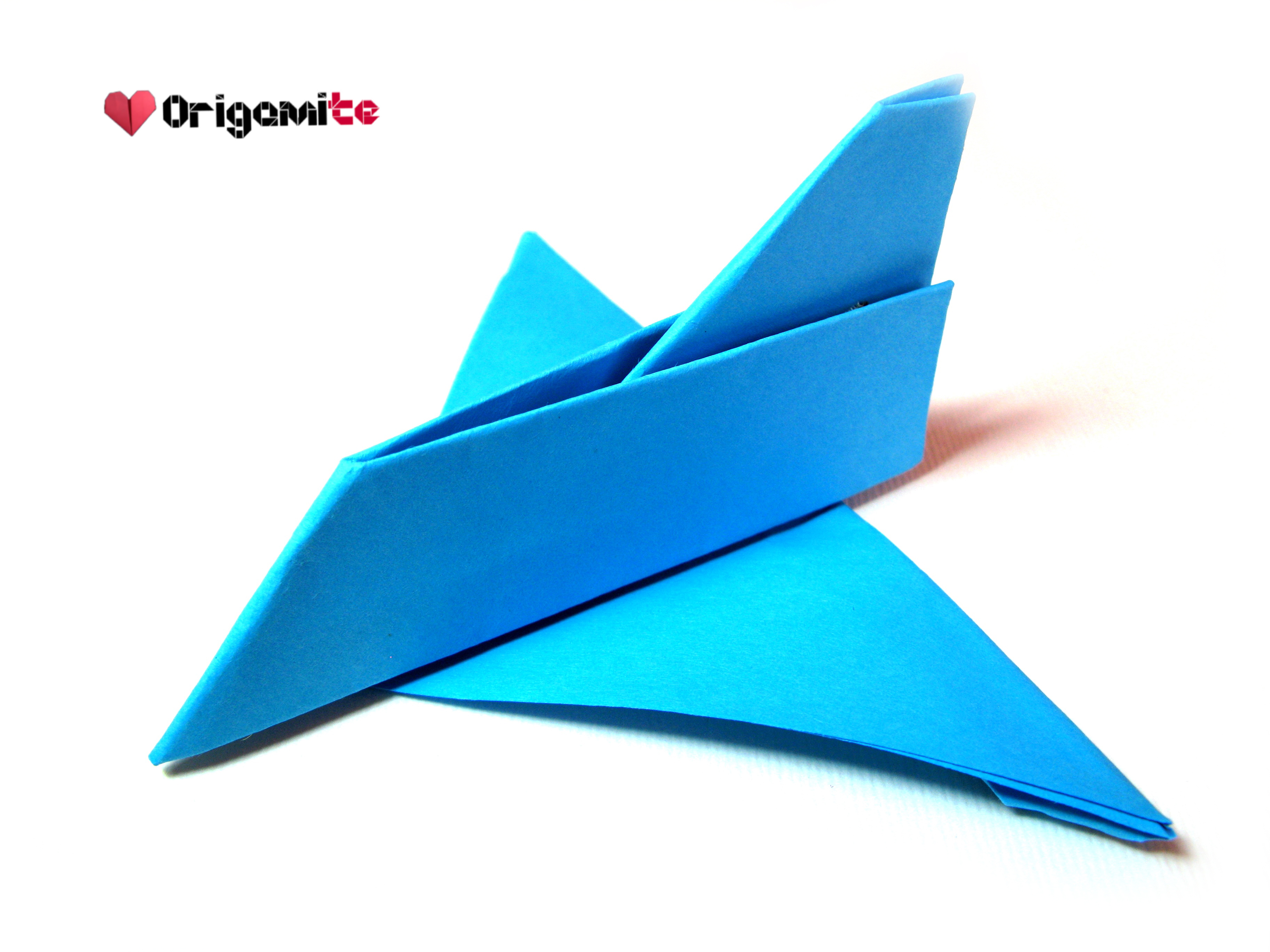 Picture of Easy Origami Airplane
