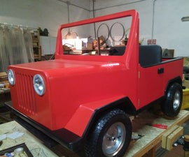 Kid Electric Jeep