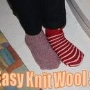 Easy Knit Wool Socks