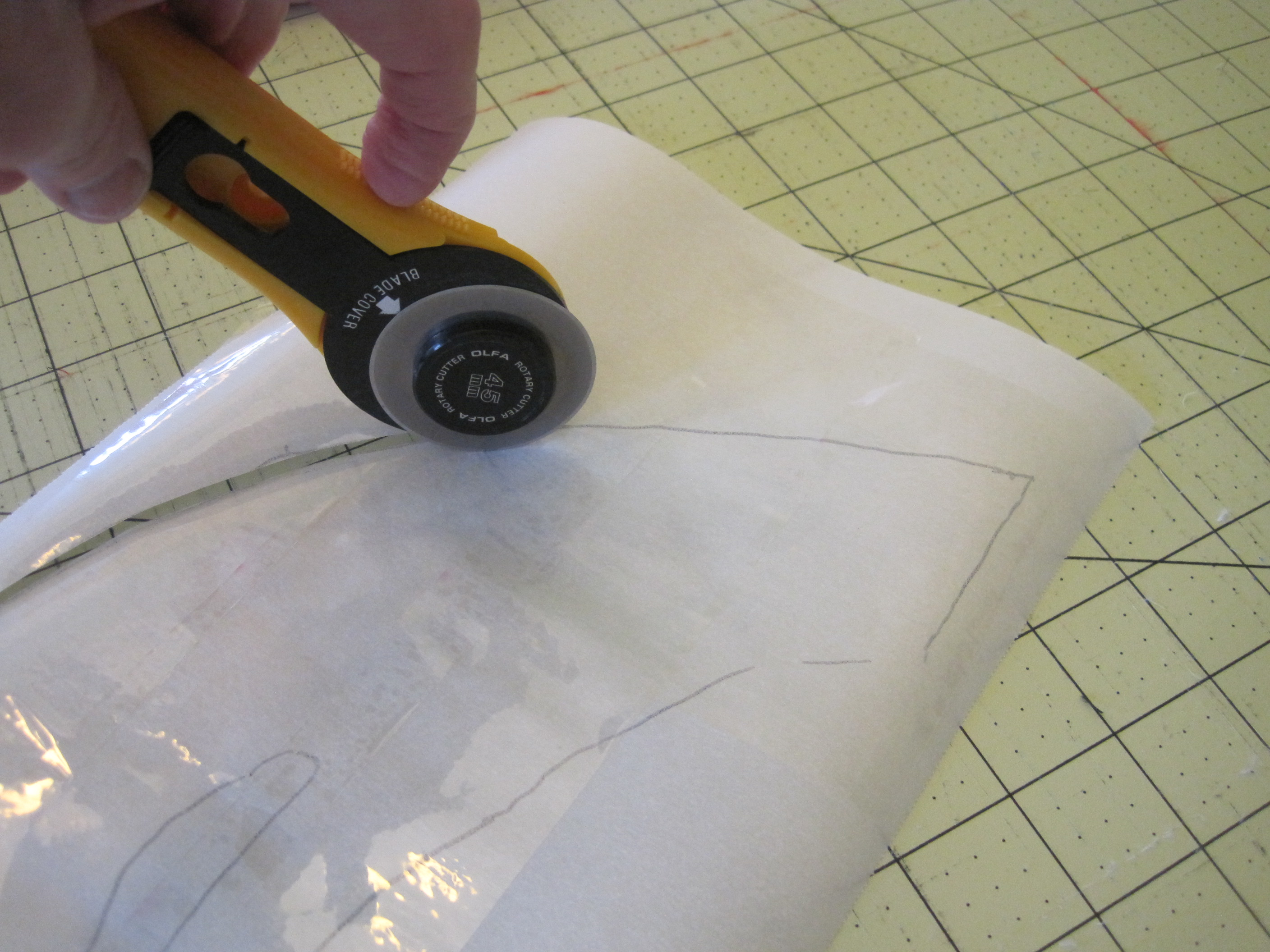 Picture of Cut Out the Parchment Paper