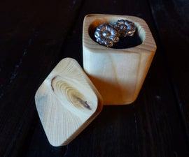 1-hour Wood Jewelry Box