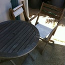 Refurbish an Old Patio Set