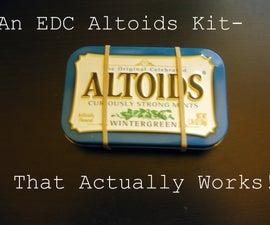 A GOOD Altoids Can EDC Kit