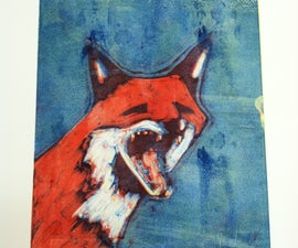How To Make A Multi-colored Monotype