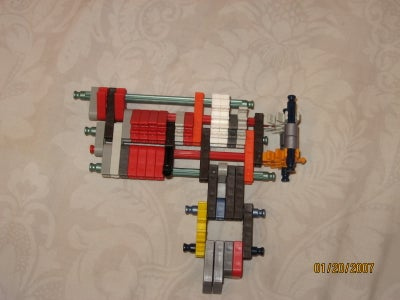 Double Barrel Knex Pistol