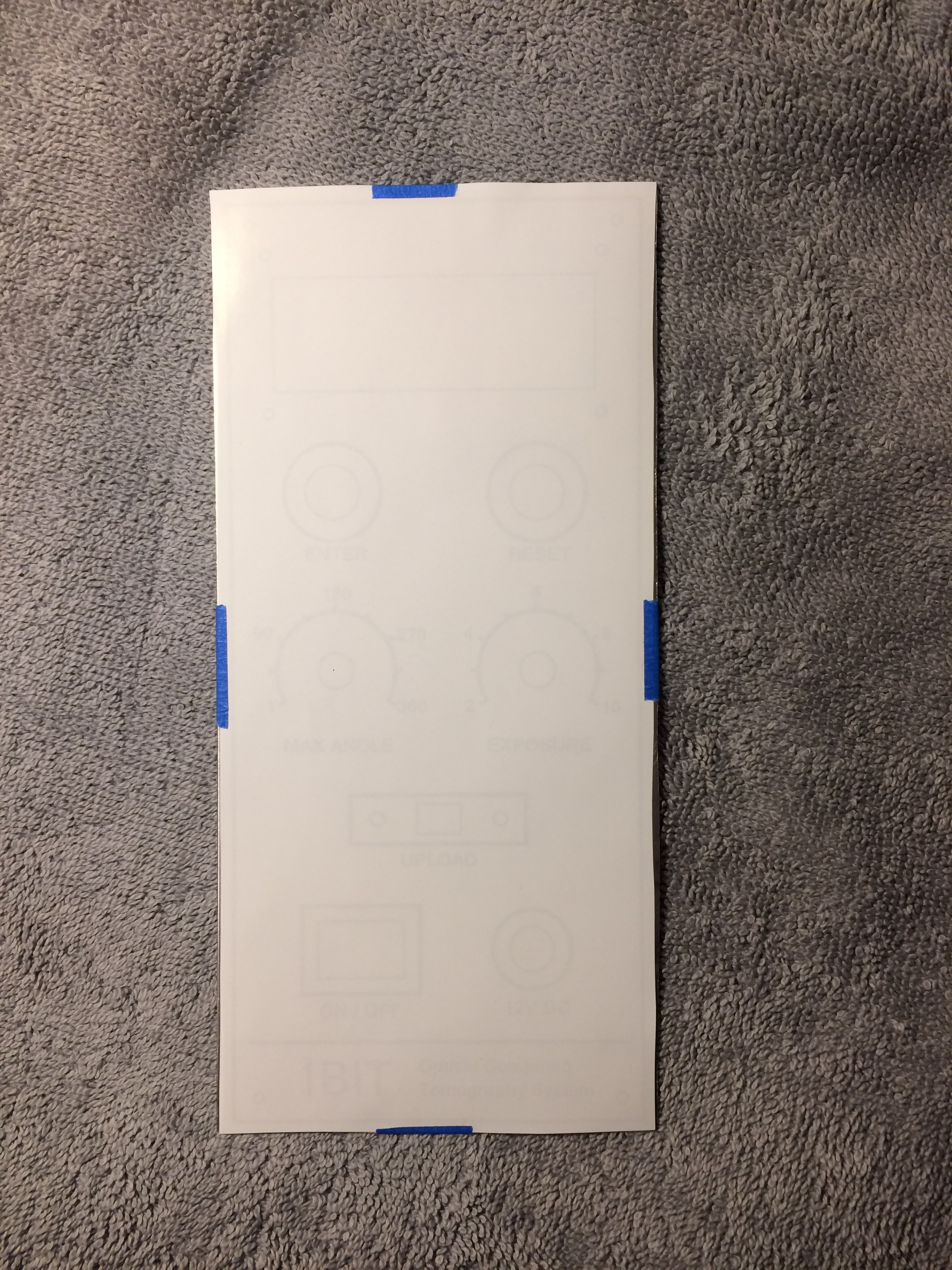 Picture of Making the Front Panel
