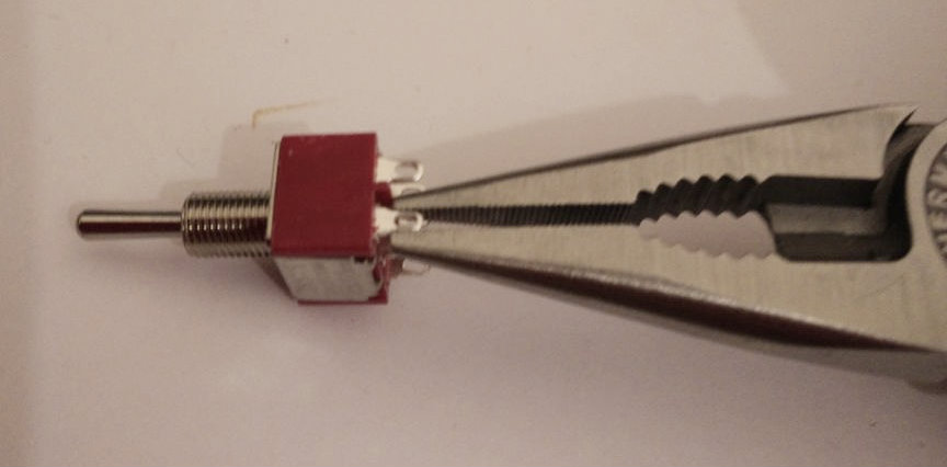 Picture of Compress the Switch Pins