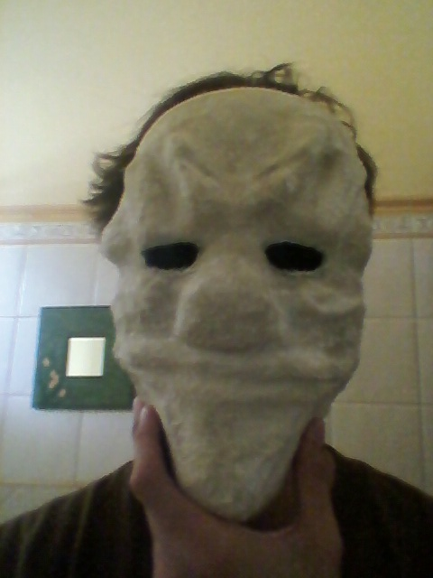 Picture of Remove the Mask From the Cardboard Base
