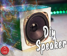 Bluetooth Speaker Made Out of Waste P.c.b