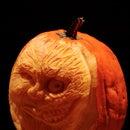 Batman's Two-Face Pumpkin Carving
