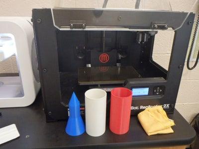 3-D Print the Parts