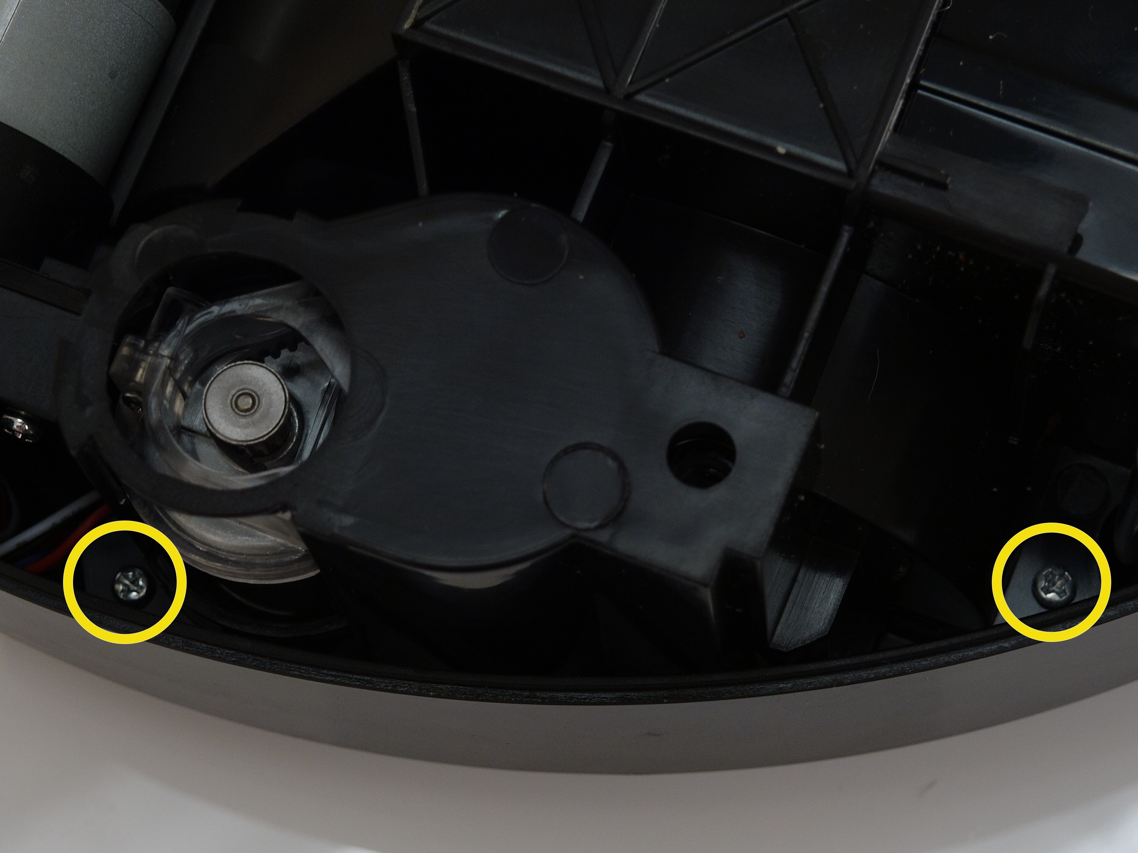 Picture of Secure the Wheel Cover on BObsweep