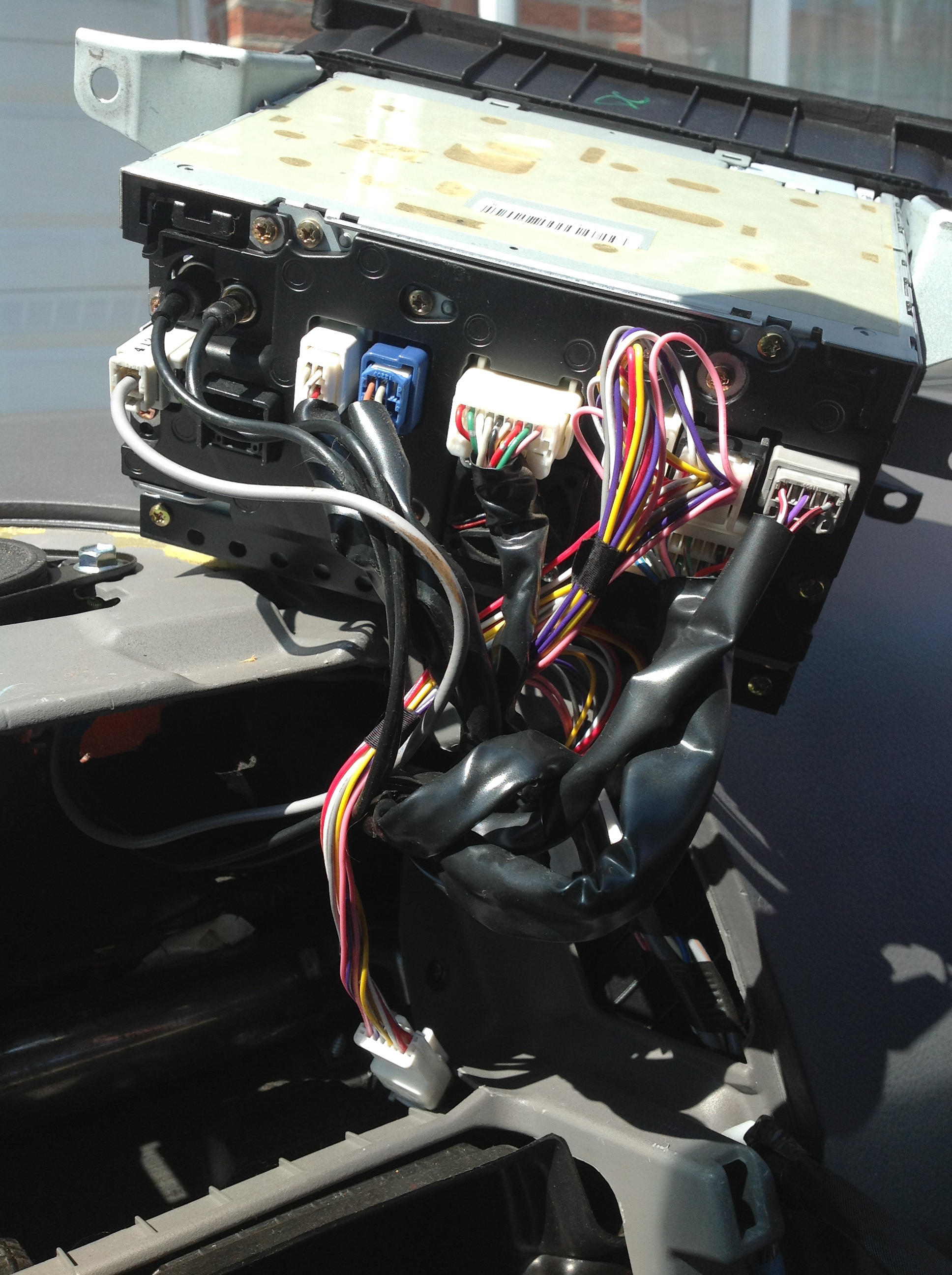 Picture of Install GTA Wire Harness