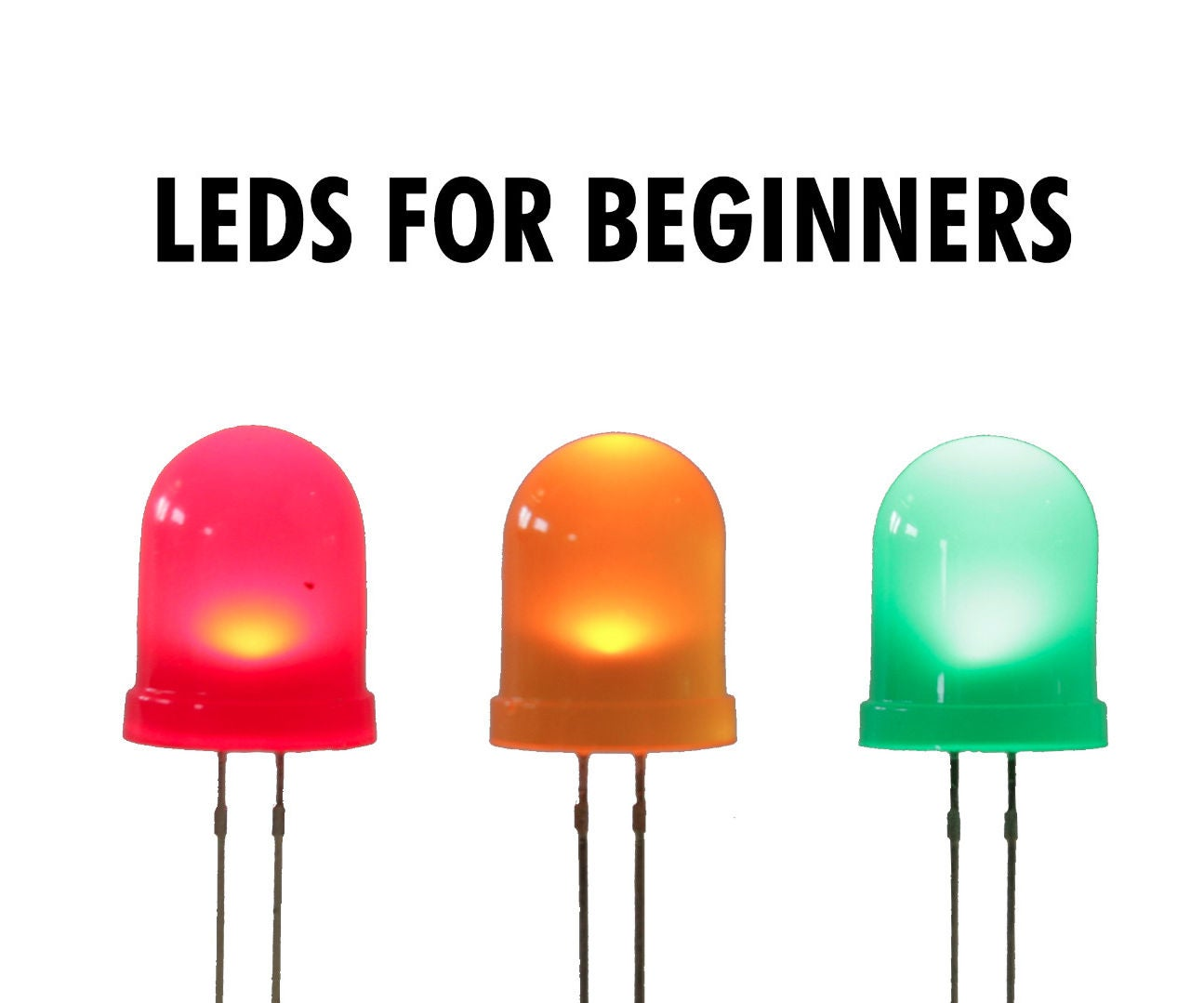 Leds For Beginners 9 Steps With Pictures Resistance Resistors Ends Of The Same Colour Electrical