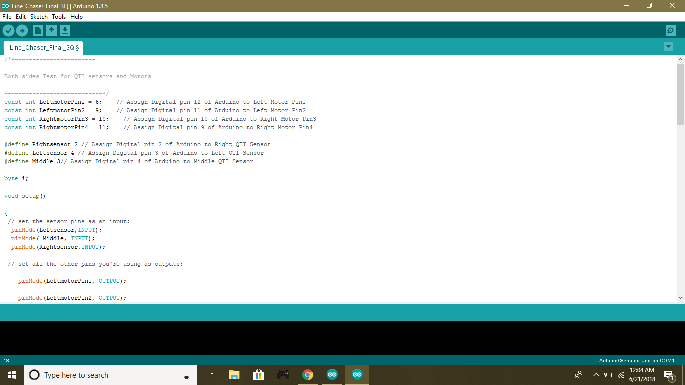 Picture of Upload Code Onto Arduino