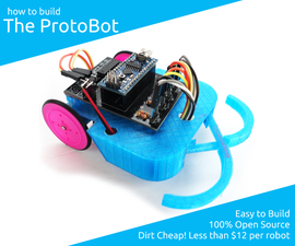 How to Build the ProtoBot - a 100% Open Source, Super-Inexpensive, Educational Robot